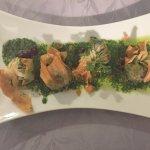 Starter - crispy scallops yumm