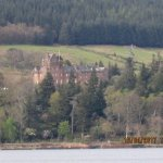 Brodick Castle from Hunters