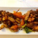 Veau en croute de pistaches