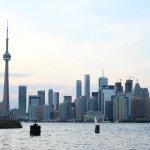 Toronto Skyline from the island