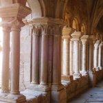 Arcadas en el claustro inferior