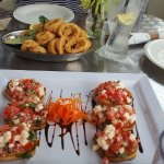 Bruschetta & calamari