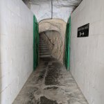The tunnel back to the bus terminal.