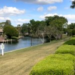 A taste of old Florida. Nice grounds with waterfront view.