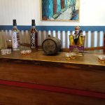 The rum tasting