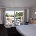 Chambre vue sur mer avec terrasse