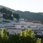 vista di Cascia dall' hotel