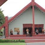 Maori Cultural performance Waitangi