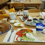 Awesome Israeli breakfast