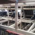 View inside the salvaged USS Cairo
