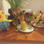 Easter food decoration Tamassa April 2017
