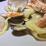 Pacchero fresco ai frutti di mare