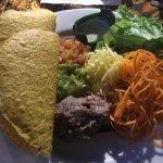 Taco plate at Bali Buda