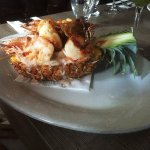 Pineapple and Shrimp