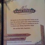 Camp Robber Foto