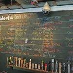 Draft beer list