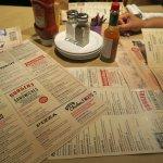 Easy read menu