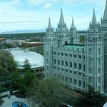 From 10th floor - Tabernacle, Temple