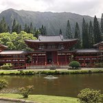 Front View of Byodo temple