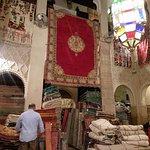 Rug store in Marrakech