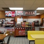 the pizza area