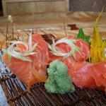 Salmon Sashimi at Shunbon
