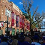 The entrance of Fenway Park on game day. Park opens 90 minutes before the game