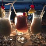 Cocktails every night. If you stay on the island you need to give them a try.