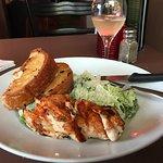 Cajun chicken Caesar salad!