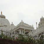 A grand temple in Hyderabad.