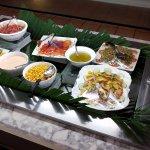 Buffet salads
