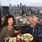 Lunch at the top of the Sky Needle
