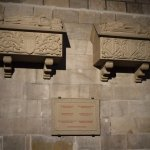 Crypts with remains of 3 Spanish Kings and 3 Spanish queens