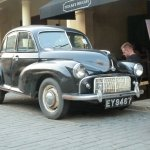 Morris Minor in Old Galle