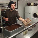 Chocolate production presentation in different languages. With good humor and very interesting f