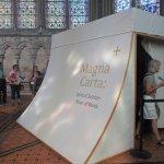 Stanza dove è conservata la Magna Carta