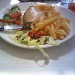 pavé au poivre vert frites