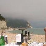 Posizione del ristorante sul mare