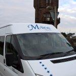 M-Line Travel visiting Burns Tower Mauchline. www.m-linetravel.co.uk  Burns Tours by M-Line Trav