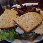 Cali turkey sandwich, mycket god!
