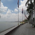 Looking from Quay towards the Tonle Sap and Mekong Rivers