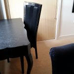 Poorly maintained furniture