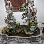 Water feature at One Pillar Pagoda #1