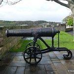 A captured Crimean War cannon