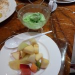 Grand Hotel provides a lot of different types of Sweets, Ice cream and fruits