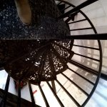 Took this last October, coming down the spiral staircase