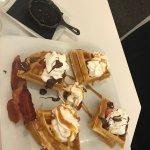 Belgian waffle duo!