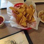 chips, salsa, and pico de gallo