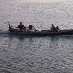Fishing on the Mekhong River