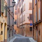 Streets of Modena's historic centre
